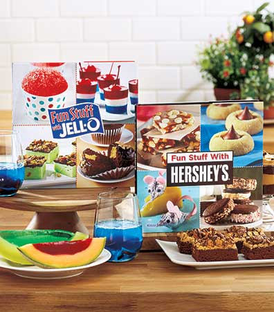 Fun Stuff Hershey's� or Jell-O� Cookbooks