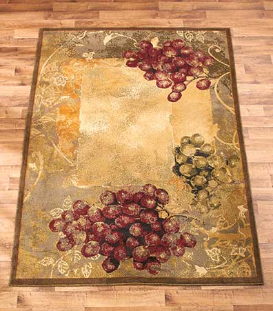 Themed decorative rug collections the lakeside collection for Home accents rug collection