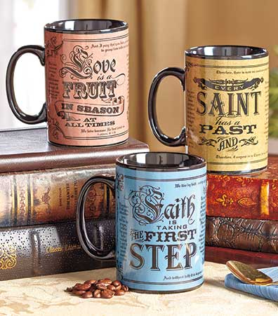 Perfect Blend of Faith Vintage Mugs
