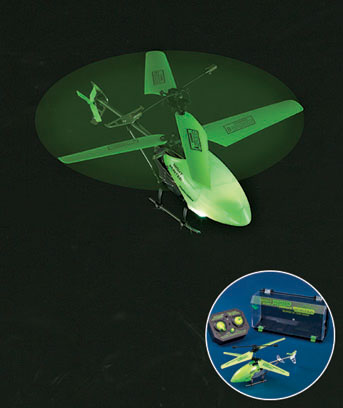 Remote Control Glow-in-the-Dark Helicopter