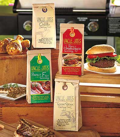 Uncle Jim's Grill Seasonings & Salts