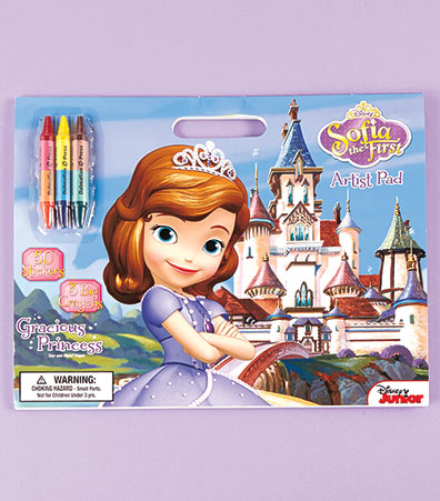 Disney Coloring Pad with Crayons