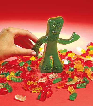 Giant Gumby Gummy Candy