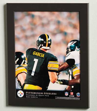 Personalized NFL Quarterback Prints