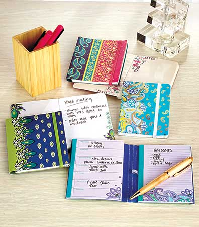 6-Pc. Planner & Notepad Sets