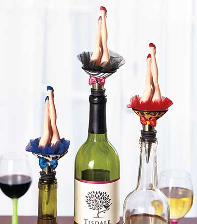 Bottoms Up Bottle Stoppers