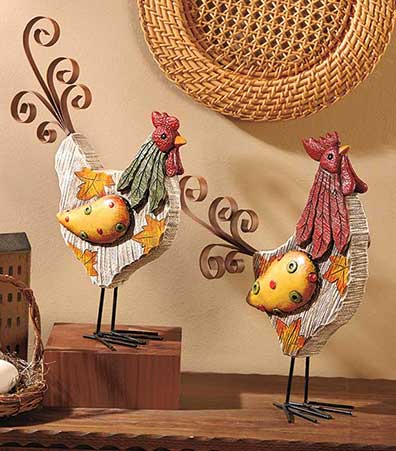 Decorative Harvest Figures