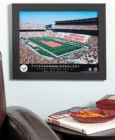 Personalized NFL Stadium Prints