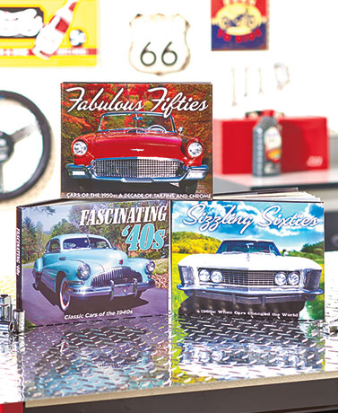 Cars of the Decade Books