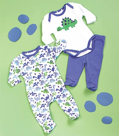 3-Pc. Baby Layette Gift Sets
