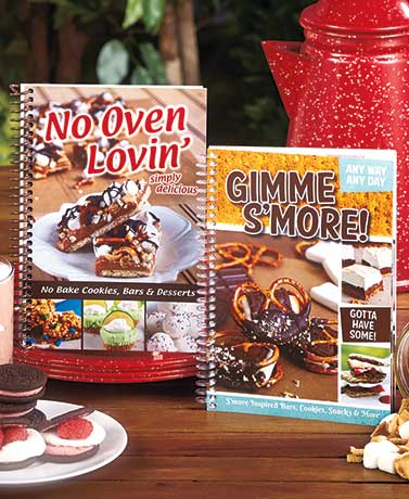 Gimme S'more! or No Oven Lovin' Cookbooks