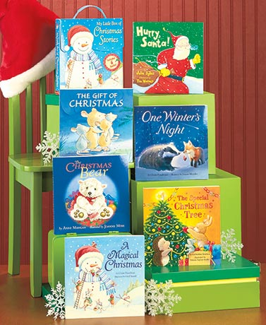 Sets of 6 Storybooks with Carry Handle Box