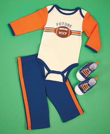 3-Pc. Baby Outfit with Tennis Shoe Sets