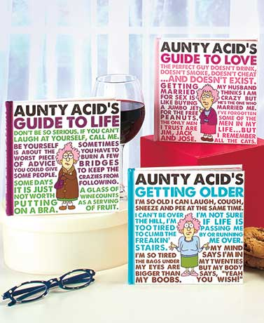Aunty Acid™ Humorous Guide Books