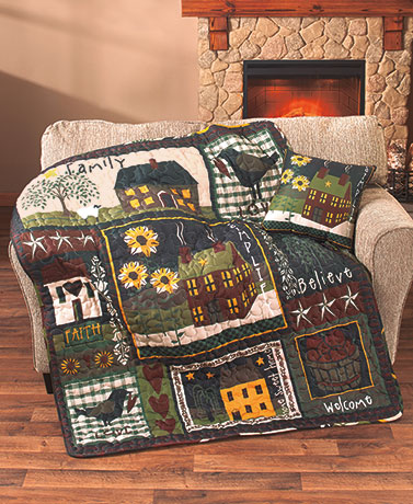 Simplify Quilted Throw or Pillow