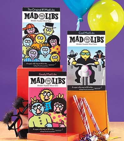 Sets of 3 Mad Libs� Books
