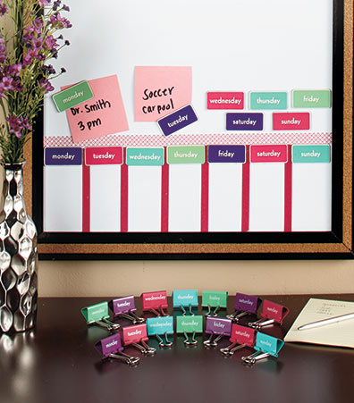 28-Pc. Message Binder Clip & Magnet Sets