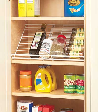 Expandable Cabinet Spice Rack