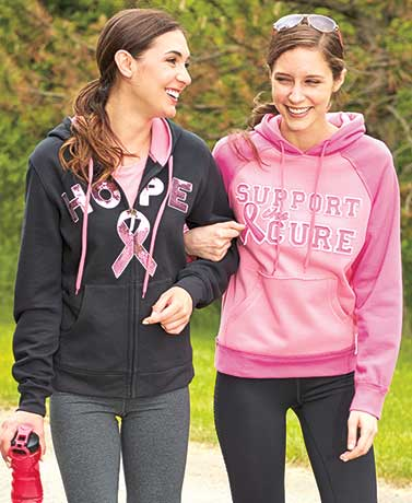 Women's Support the Cure� Sweatshirts
