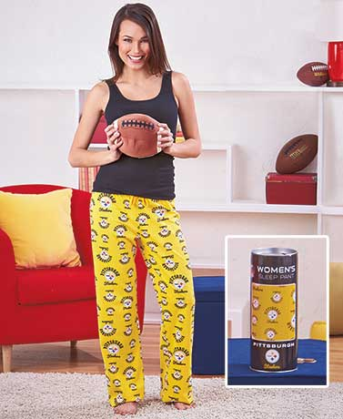 Women's NFL Lounge Pants in a Can
