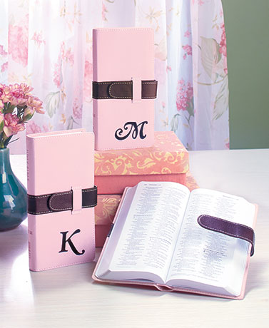 Monogram Wallet-Style Bibles