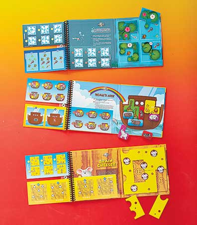 Magnetic Travel Games™ by Smart Games