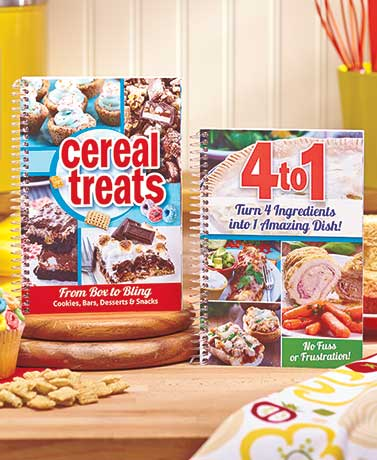 iCereal Treatsi or 4 Ingredients Cookbooks