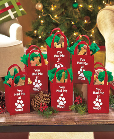 Sets of 6 Pet Treat Bags