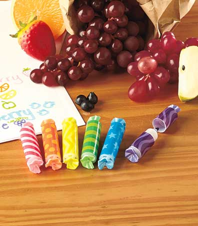 Sets of 6 Scented Markers or Gel Pens