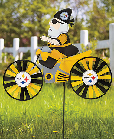 NFL Motorcycle Wind Spinners