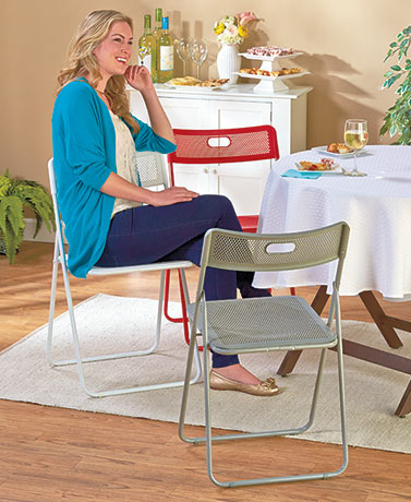 Honeycomb Folding Chairs
