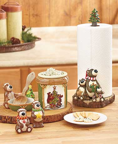 Holiday Bear Kitchen Countertop Collection