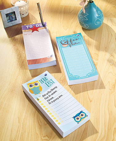 Jumbo To-Do List Pads with Pen Holder
