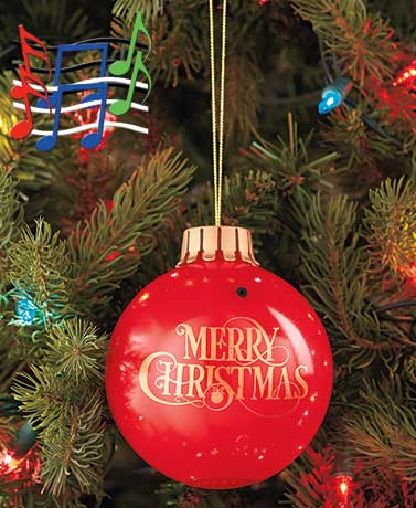 Singing Lighted Ornament