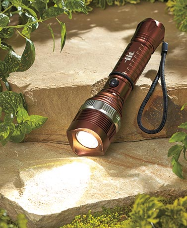 Rechargeable Cree� LED Flashlight Set