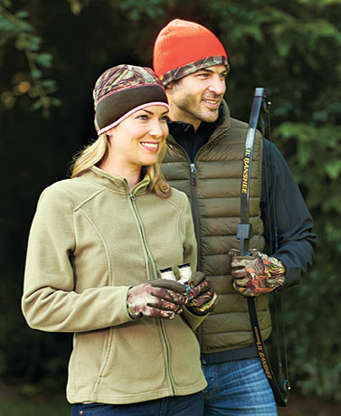 His or Hers Hunting Hat or Gloves