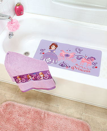 Kids' Licensed Bath Towels or Tub Mats