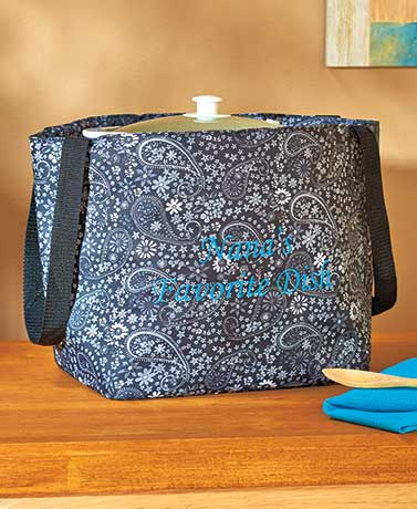 Insulated Slow Cooker Travel Totes
