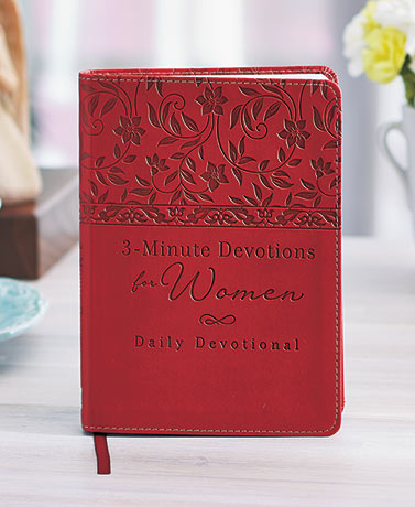 3-Minute Daily Devotions for Women