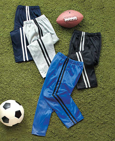 Boys' Extended Sizes Sets of 2 Active Pants