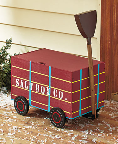 Salt Box Wagon