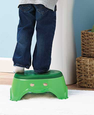 Folding Padded Potty Seat or Step Stool