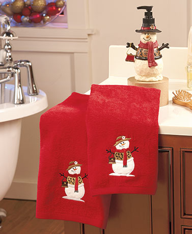 Holiday Bathroom Coordinates