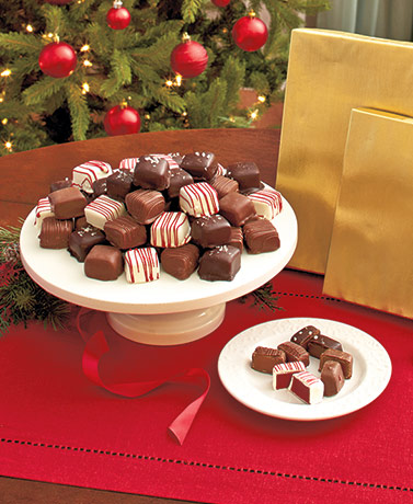 Gourmet Chocolate-Covered Caramels