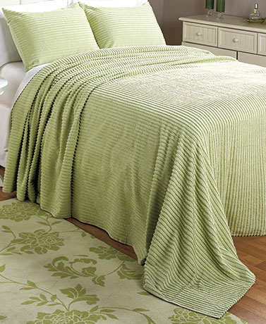 Abigail Chenille Bedspreads or Shams