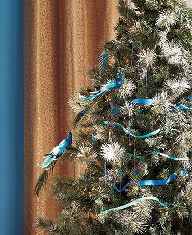 Peacock Ornament Collection