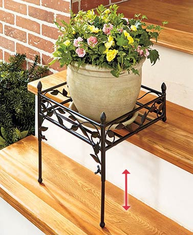 Adjustable Step Plant Stand