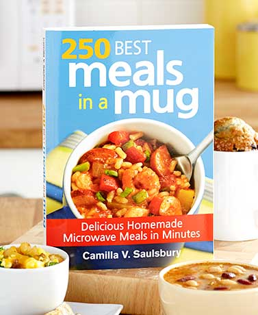 250 Best Meals in a Mug Cookbook