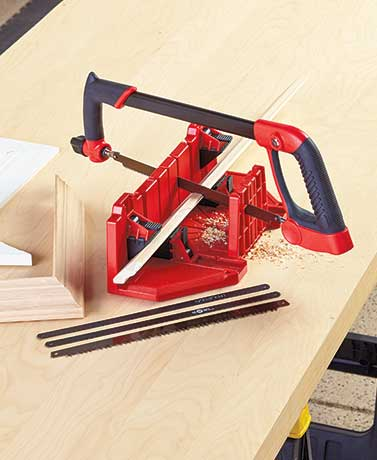 Adjustable Saw or Miter Box