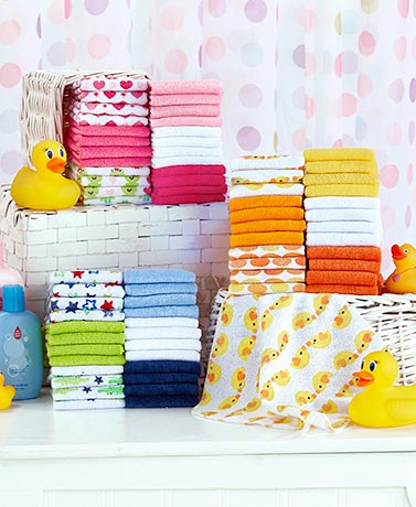 24-Pack Baby Washcloths